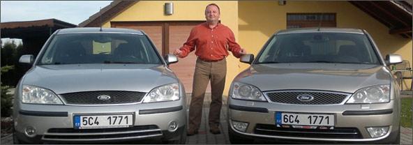 Vozy Ford Mondeo Autoškoly Petra Sima